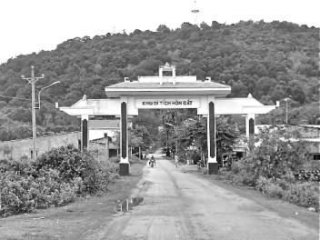 Monument voor de guerrillastrijders in Hon Dat. foto: Ngoc Vien, 2014